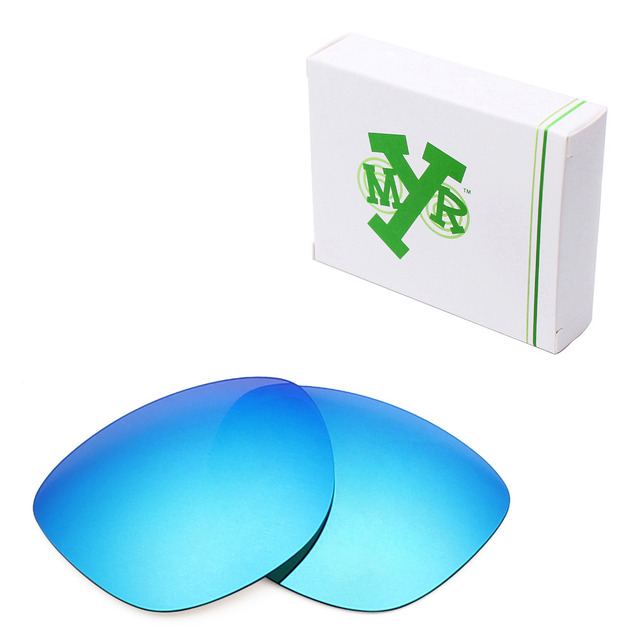 2213fe3481 Mryok Anti-Scratch POLARIZED Replacement Lenses for Oakley Frogskins LX  Sunglasses Ice Blue