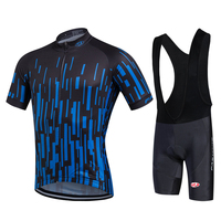 FASTCUTE 2018 Summer Breathable Men Cycling Jersey Mtb Cycling Clothing Bicycle Outdoor quick dry bike equipment set