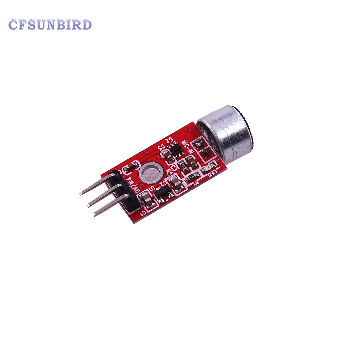 все цены на  CFsunbird Best Price!!! 10PCS MAX9812 Microphone Amplifier Sound MIC Voice Module for Arduino 3.3V/3.5V  онлайн