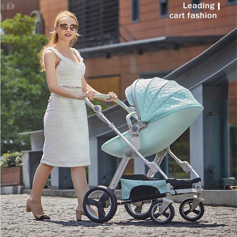 VOONDO Baby stroller can sit cart 2 in 1 and 3in1reclining lightweight folding children high landscape child baby stroller bb voondo baby stroller can sit cart 2 in 1 and 3in1reclining lightweight folding children high landscape child baby stroller bb