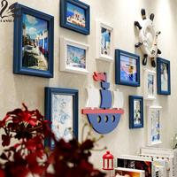 Larry Lanskaya Honor Estilo Europeo de Madera Maciza Marco de Fotos de Pared De Madera Moderna Pintura 3d Barato Marcos de cuadros