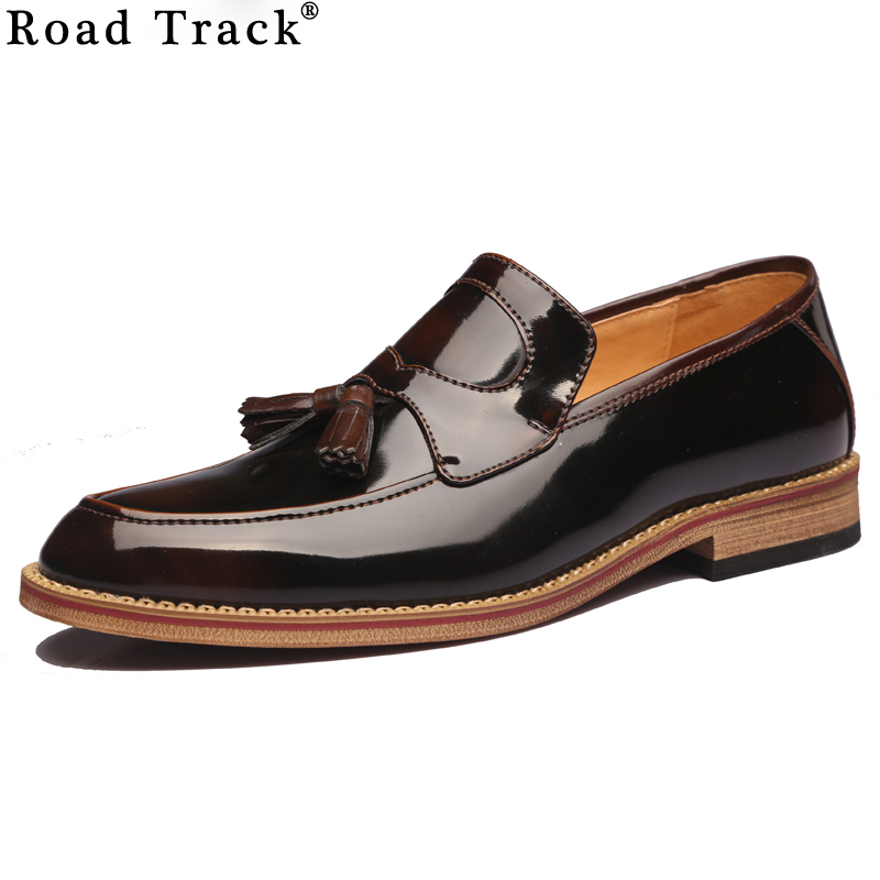 Mens Oxford Patent Leather Shoes