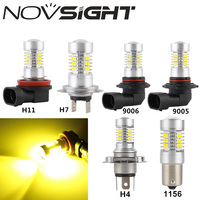 New 9005 HB3 H7 H11 9006 HB4 44W Car Led Headlights Fog Lamps Bulbs With 3030SMD