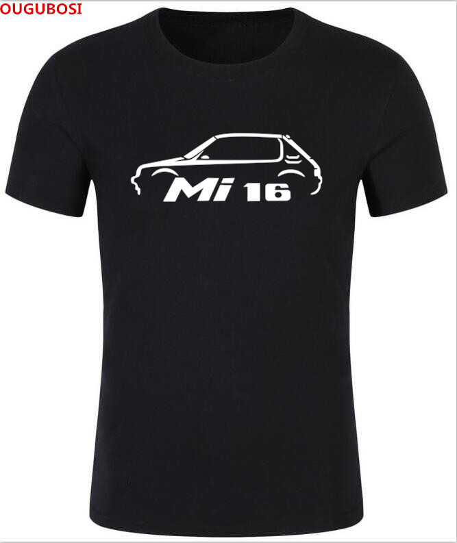 2018 free shipping Details about PEUGEOT 205 GTI Mi16 INSPIRED CLASSIC CAR T-SHIRT