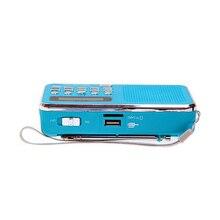 цена на Mini Digital Audio FM Radio Speaker Support TF Card MP3 Music Player Loudspeaker SP99
