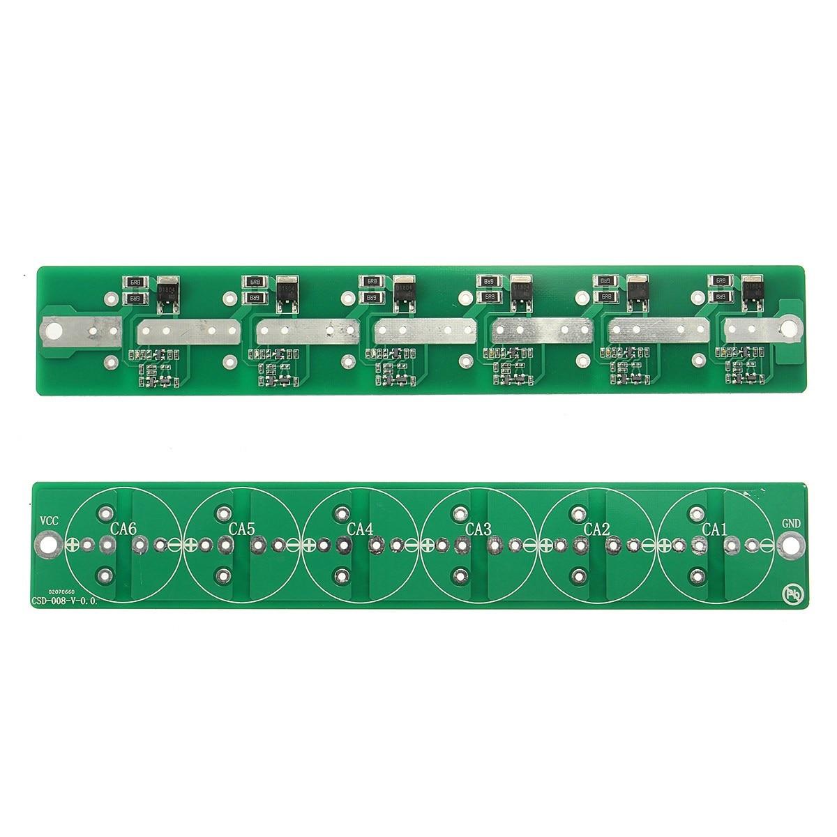 Новый 6 строка 2.7 В 100F-500F 100F 120F 220F 360F 400F 500F супер конденсатор балансировки защиты доска