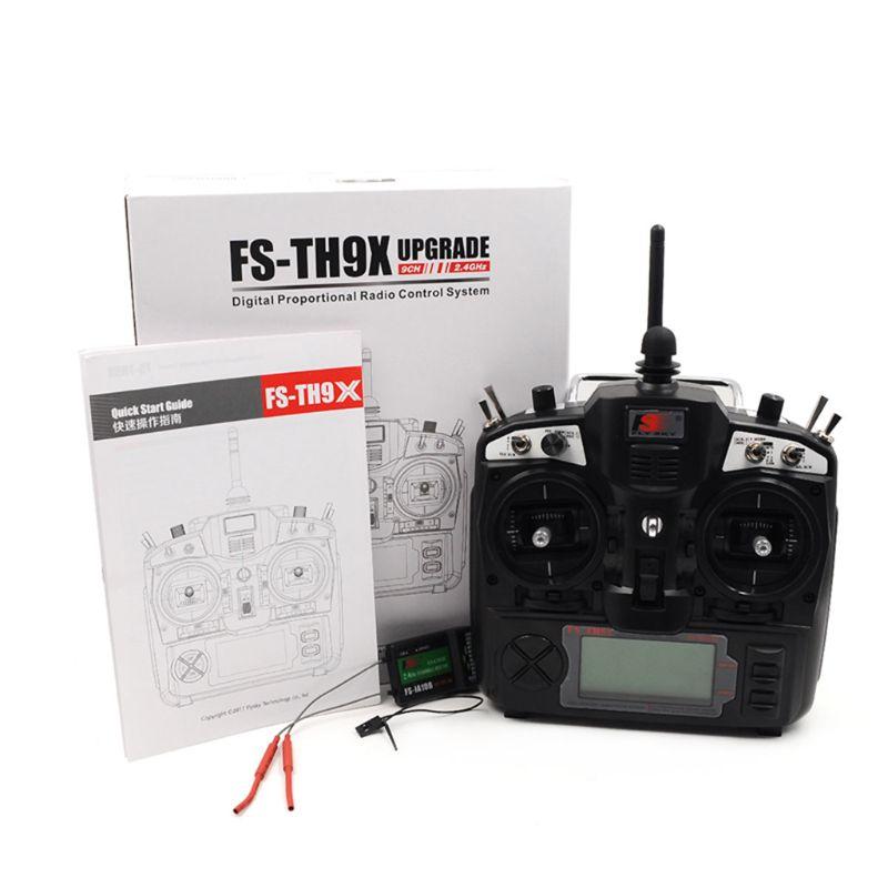Premium Quality FlySky FS TH9X FS TH9X 2 4G 9CH Transmitter 10ch FS iA10B Receiver 2