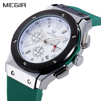 MEGIR Sports Wristwatches Men Fashion Analog Quartz Watches Men S Luxury Top Brand Waterproof Watch Clock