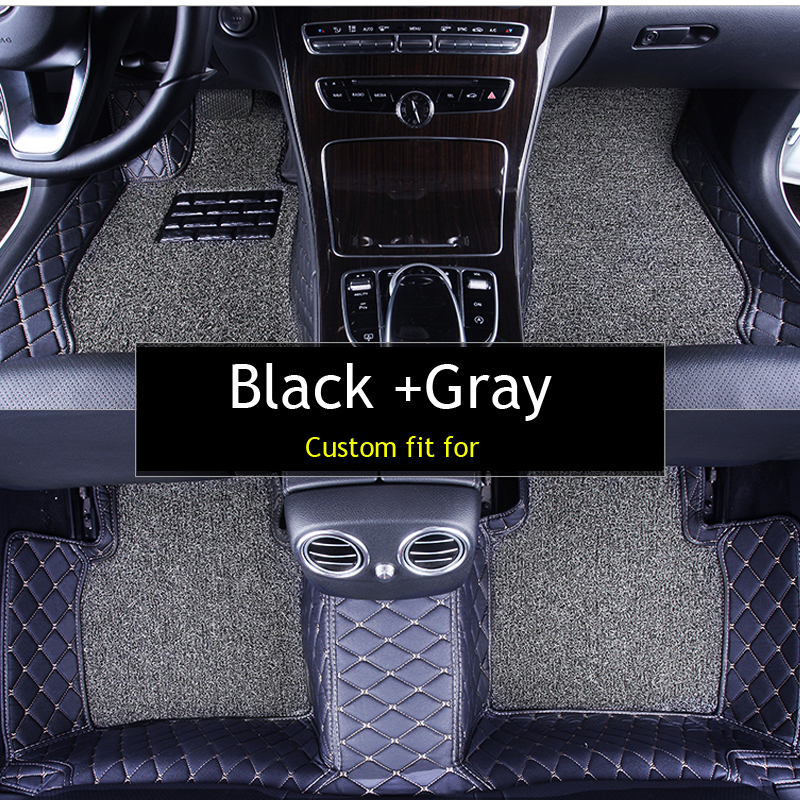 Aliexpress Com Buy Double Layer Fabric Car Floor Mats