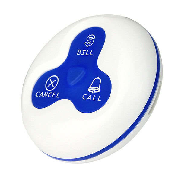 Waterproof Wireless Restaurant Call Transmitter Button (3)