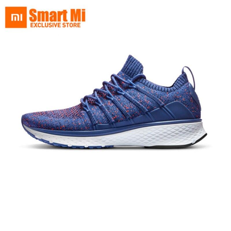 Xiaomi Mijia Sport Sneaker 2 Uni-Moulage Techinique Nouveau Fishbone Serrure Système Élastique À Tricoter Vamp Sport homme