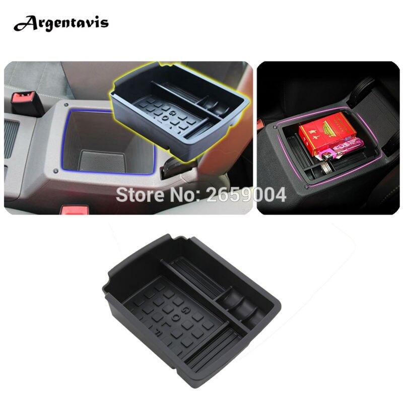 Interior Armrest Storage Box Holder Central Storage Pallet Armrest Container Box For Volkswagen VW Golf 7 MK7 VII