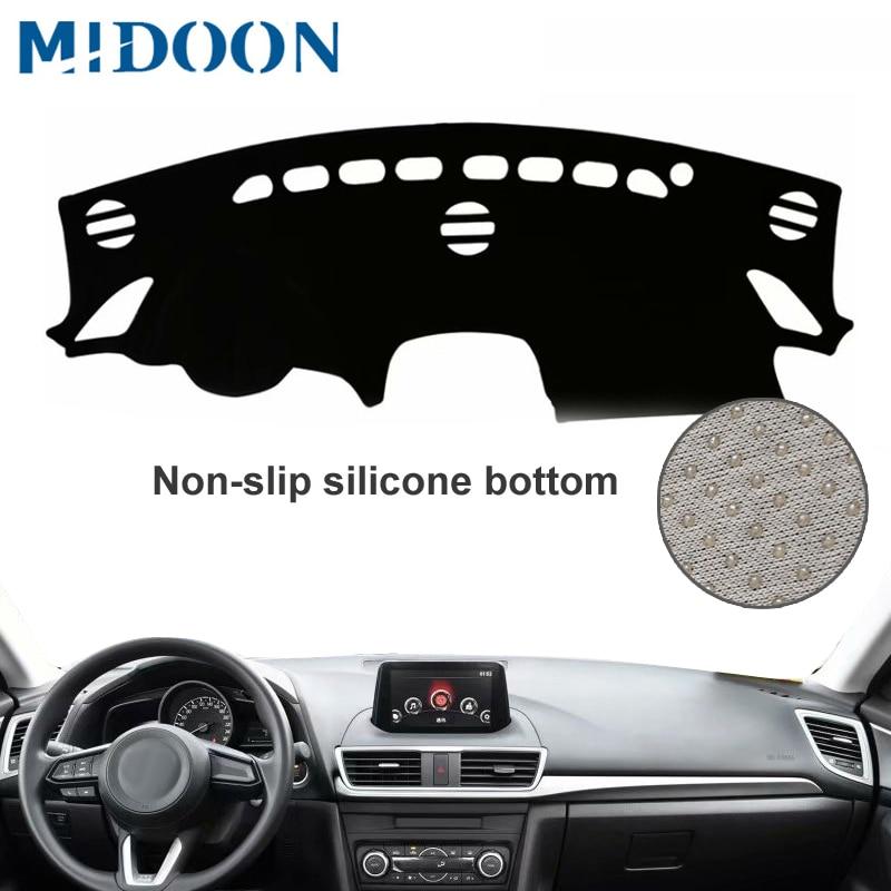 Fit for Hyundai Tucson IX35 10-15 Dashboard Cover Sun Shade Dashmat Pad Dash Mat