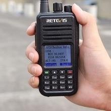 Retevis RT3 GPS DMR Радио Цифровой рация UHF 400-480 мГц 5 Вт VOX радиолюбителей ФИО comunicador hf трансивер 2 антенны A9110