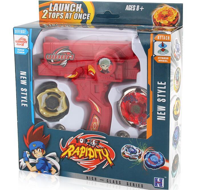 Éclater jouets vente Peonzas De Toupie Toupie Toupie métal Fusion Avec Lanceur dieu filature Top Bey jouet lames