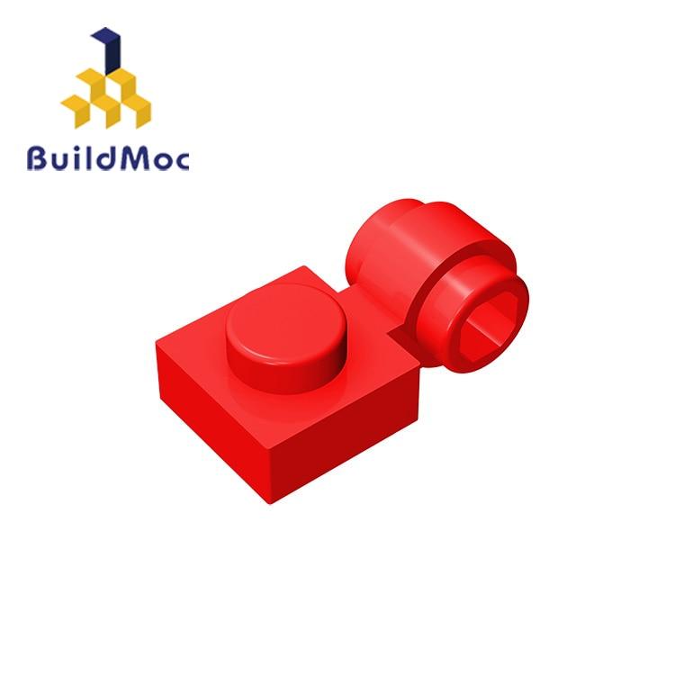 BuildMOC Compatible Assembles Particles 4081 1x2For Building Blocks Parts DIY LOGO Educational Tech Parts Toys