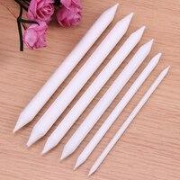 Conjunto de 6 peças de canetas para desenho  utensílios de arte para desenho  pincel e arroz