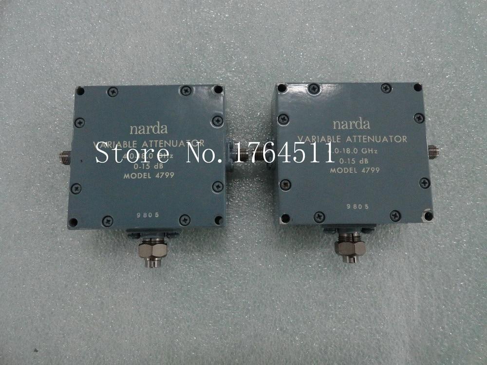 [BELLA] Manual Variable Attenuator 4799 0- 5dB Narda Continuation 4-18GHz SMA