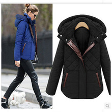 2017 New Arrivals Parkas Women Cotton Padded Winter Jacket Thick Warm Hooded Female Coat Slim Womens