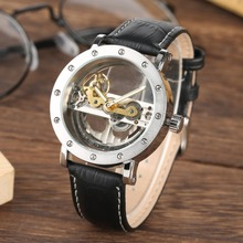 Leather Mechanical Dial Luxury