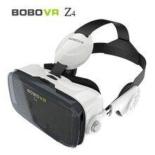Bobovr z4/z4 мини 3d vr очки google картон vr виртуальная реальность очки коробка для 4-6 дюймов смартфон