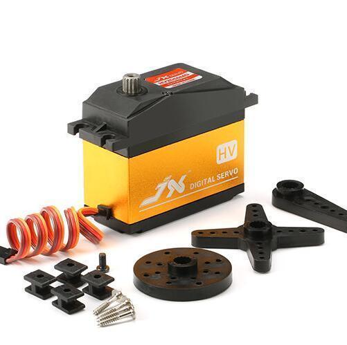 JX PDI-HV2060MG 6-7.4 v Métal Numérique HV Servo 62 kg Sans Noyau pour 1/5 Voiture RC Accessoires