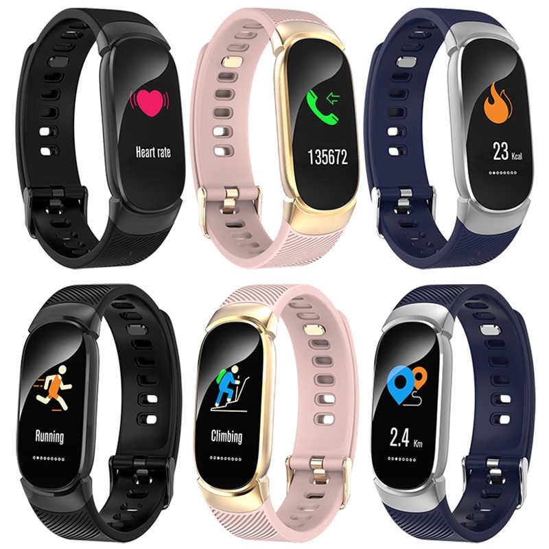 BANGWEI נשים חכם שעון LED עמיד למים חכם שעון גברים קצב לב לחץ דם ספורט שעון מד צעדים שעון עבור אנדרואיד iOS