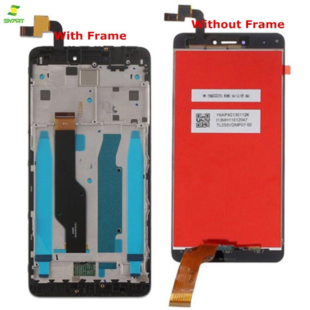 Nuevo LCD + marco para Xiaomi Redmi Note 4X pantalla LCD de pantalla para Redmi Note 4 versión Global pantalla LCD sólo para Snapdragon 625