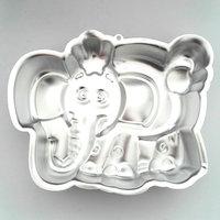 24 19 Cm 3D Cartoon Elephant Shaped Aluminium Alloy Cake Pan Baking Mold Fondant Cake Decorating