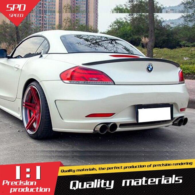 For BMW Z4 Spoiler E89 20i 28i 35i Spoiler High Quality Carbon Fiber Car Rear Wing Spoiler For BMW Z4 Spoiler 2008 2014