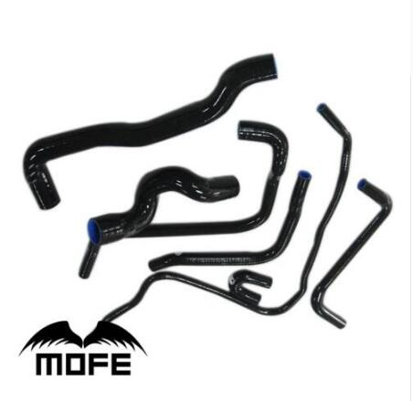 MOFE black silicone water/coolant/radiator hose kit for Saab 9-3 2.0T 1998~2002 MOFE black silicone water/coolant/radiator hose kit for Saab 9-3 2.0T 1998~2002