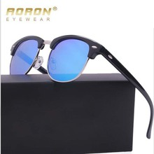 Aoron UV400 Polarized Sunglasses Women Men Classic style Sun glasses 3016 Leisure Glasses