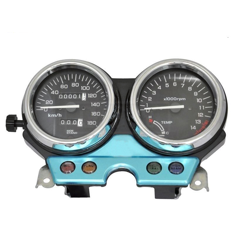 Motorcycle LED Electronic Tachometer Speedometer Odometer Accessory Gauge Kit for Honda CB400 CB 400 1992 1993 1994 92 93 94