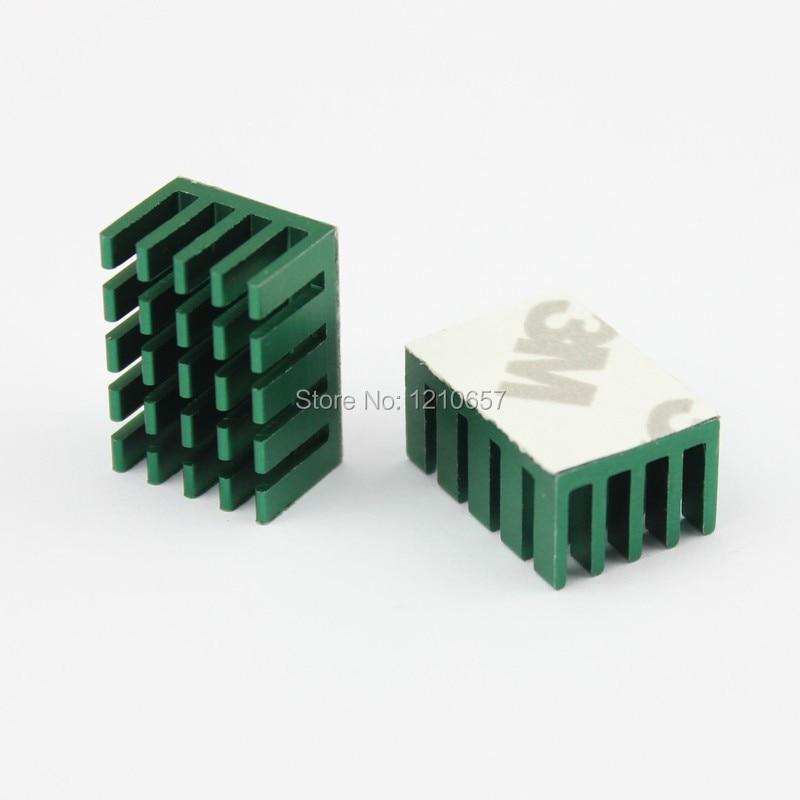 20x14x10mm Green Aluminum Heatsink Radiator