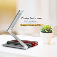 Modern Desk Lamp LED Office Work Lamp Bedside Study Reading Lighting Foldable Table Lamp Chargeable Desk