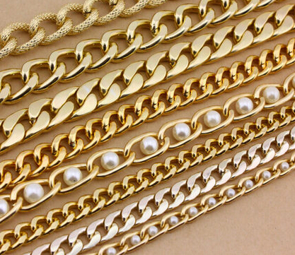 online shop accessories material chain clothing decorative chain chain chain bag aluminum copper iron chain aliexpress mobile - Decorative Chain