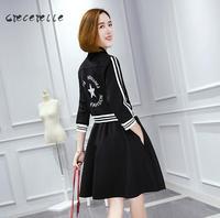 Women Plus Size Dress Female Fashion Dress Xl 5xl Office Dress School Suits Spring Thin Dress