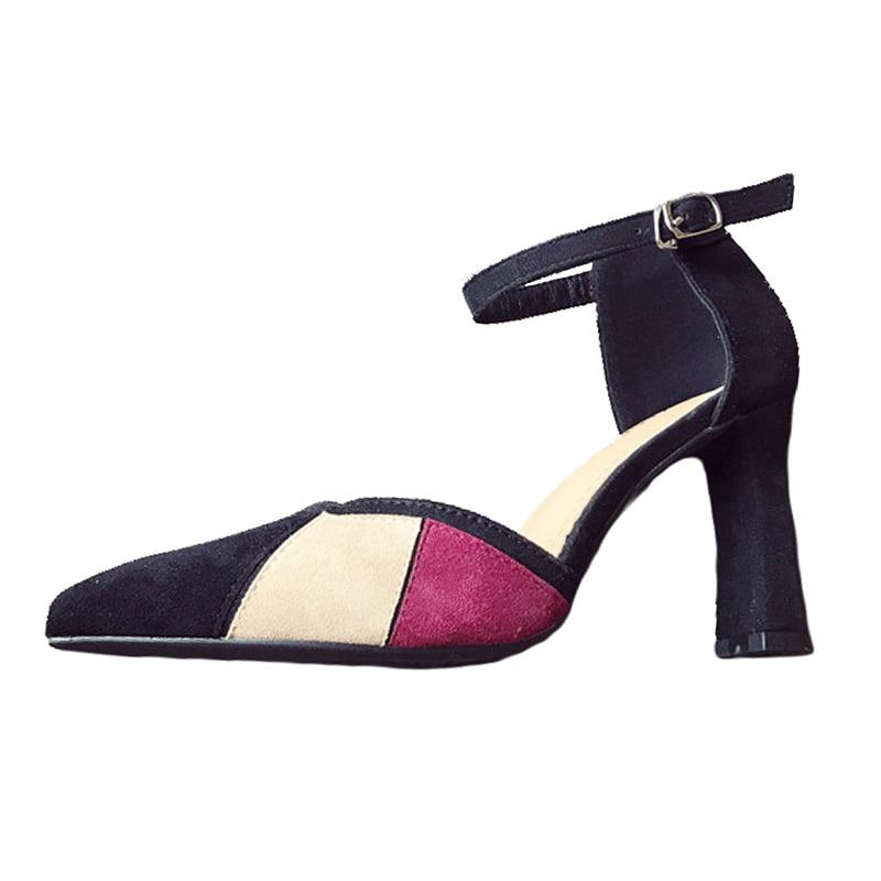 Nouveau Dames Pointu noir Talons Marque Chaussures Sexy Femmes Apricot Haute Zh2834 De Bout 2018 Super Mode Pompes v6ybf7Yg