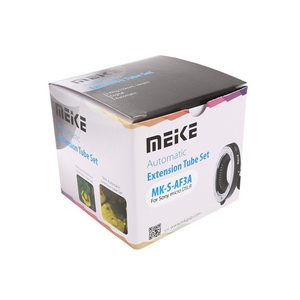 Image 5 - Meike MK S AF3A Metal Auto Focus Macro Extension Tube 10mm 16mm for Sony Mirrorless a6300 a6000 a7 a7SII NEX E Mount Camera
