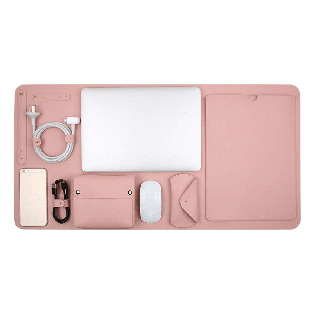 5in1 étui pour ordinateur portable pour Macbook Air 13 étui pochette pour ordinateur portable avec tapis de Table puissance souris pochette sac Funda pour Macbook Pro Retina 13