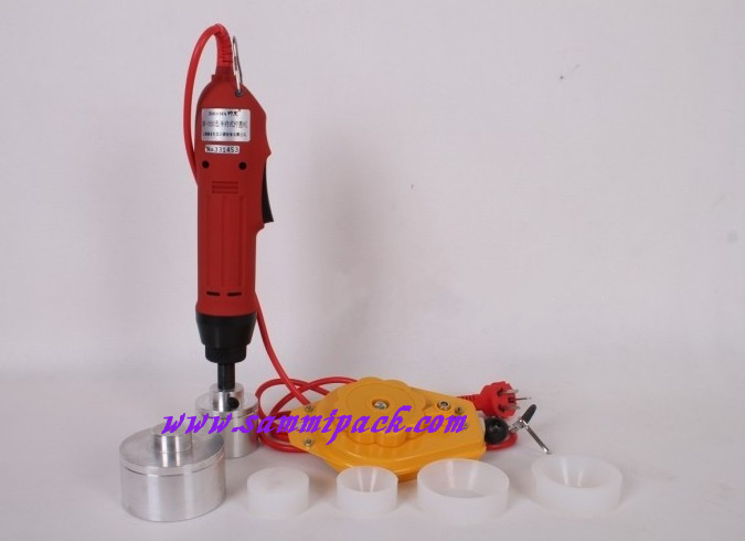 SG-1550 New Hand Held Electric capping machine,Manual capper,plastic bottle cap sealer for different cap size 5-50mm free shipping new manual electric capping machine screw capper plastic bottle capping machine for special cap