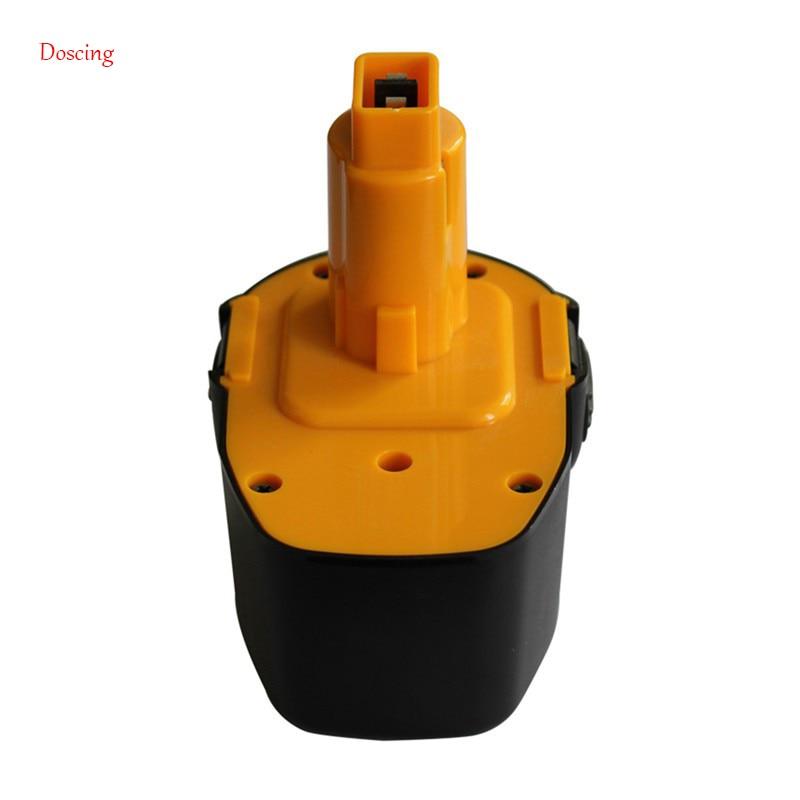 Est produit nouvelle batterie de remplacement pour Dewalt DEW-14.4 batterie d'outil électrique 14.4 V 3000 mAh DC9091 DE9038 DW9094