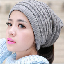 2016 Solid Cotton Hat Scarf For Women Men Skullies Hat Autumn Winter Cap Knit Scarf Hedging Cap Casual Girl Beanies Accessories
