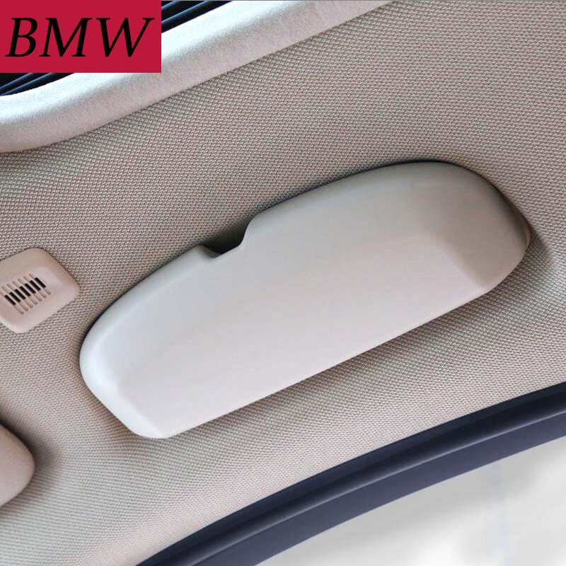 Car Styling Sunglass Case For BMW 1/3/5/7 Series X3/X4/X5/X6 F20/F21/F30/F31/F34/F07/F10/F11/F18/F01/F03/G11 Glasses Box