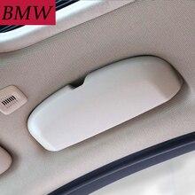 Стайлинга автомобилей чехол для солнечных очков для BMW 1/3/5/7 серии X3/X4/X5/X6 F20/F21/F30/F31/F34/F07/F10/F11/F18/F01/ f03/G11 очки коробка