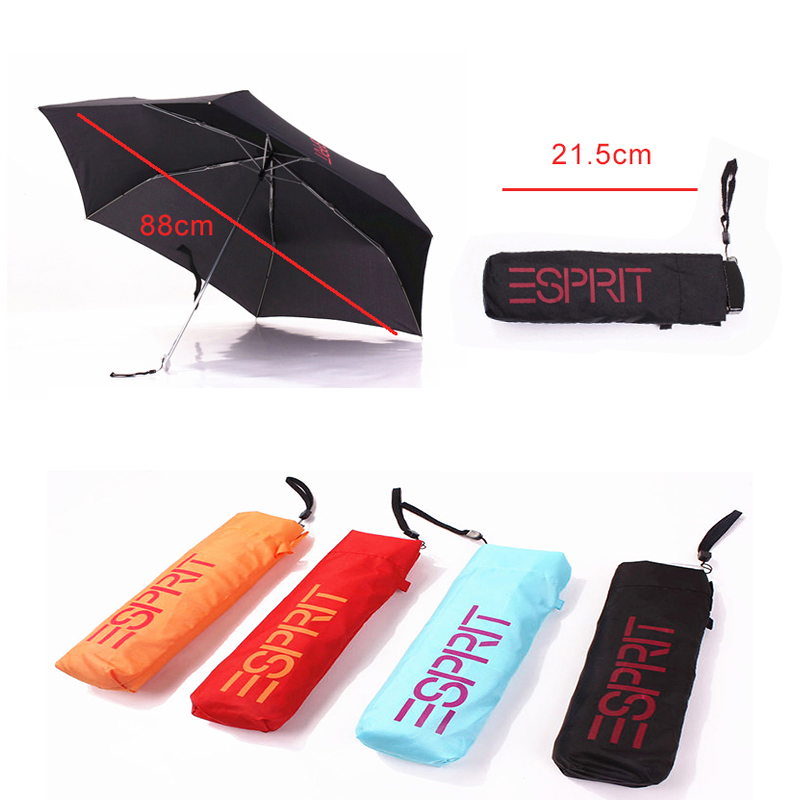 pocket travel ESPRIT Compact UMBRELLA 165g mini great gift small folding rain