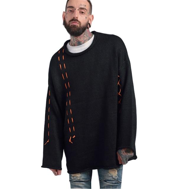 High quality 2017 fashion new design Black orange suede spliced ...