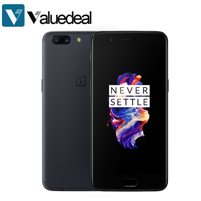 Оригинальный 8 ГБ ОЗУ 128 ГБ ROM OnePlus 5 A5000 5.5 дюймов fhd 4 г LTE смартфон 20.0MP для Qualcomm snapdragon 835 Octa Core Телефон