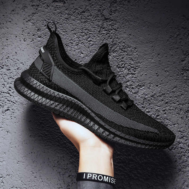 2019 Lente en Zomer Mode Heren Casual Schoenen Lace-Up Ademende Schoenen Sneakers Mens Trainers Zapatillas Hombre Drop Shipping