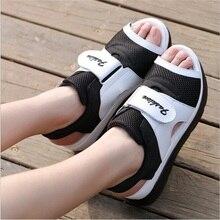 Explosion Fashion Women Sandals For Breathable Comfort Shopping Ladies Walking Shoes Summer Platform Black Sandal